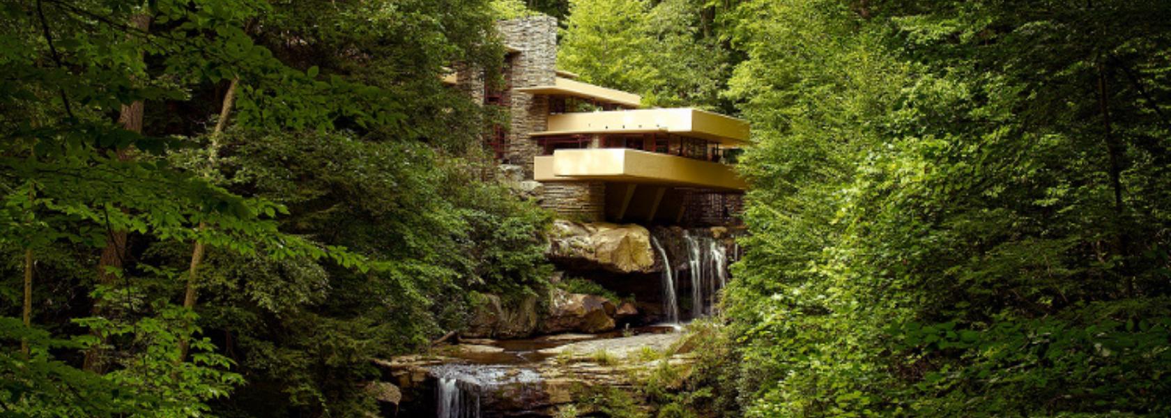 Fallingwater, le chef d'œuvre de Frank Lloyd Wright - Oikos