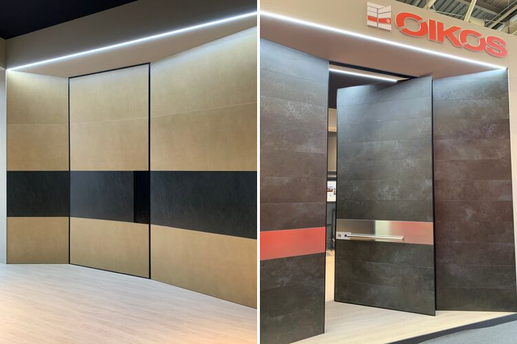 OIKOS and LAMINAM: a winning combination between at Cersaie 2019 - Oikos
