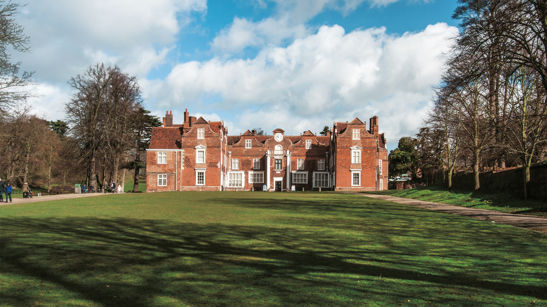 Ipswich, UK – Recreation of the Christchurch Mansion museum portal - Oikos